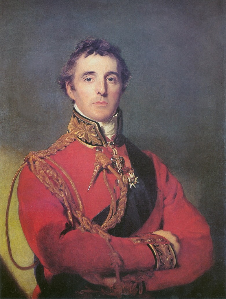 The Duke of Wellington    By Sir Thomas Lawrence   1814   Painted a few months before the Battle of Waterloo
