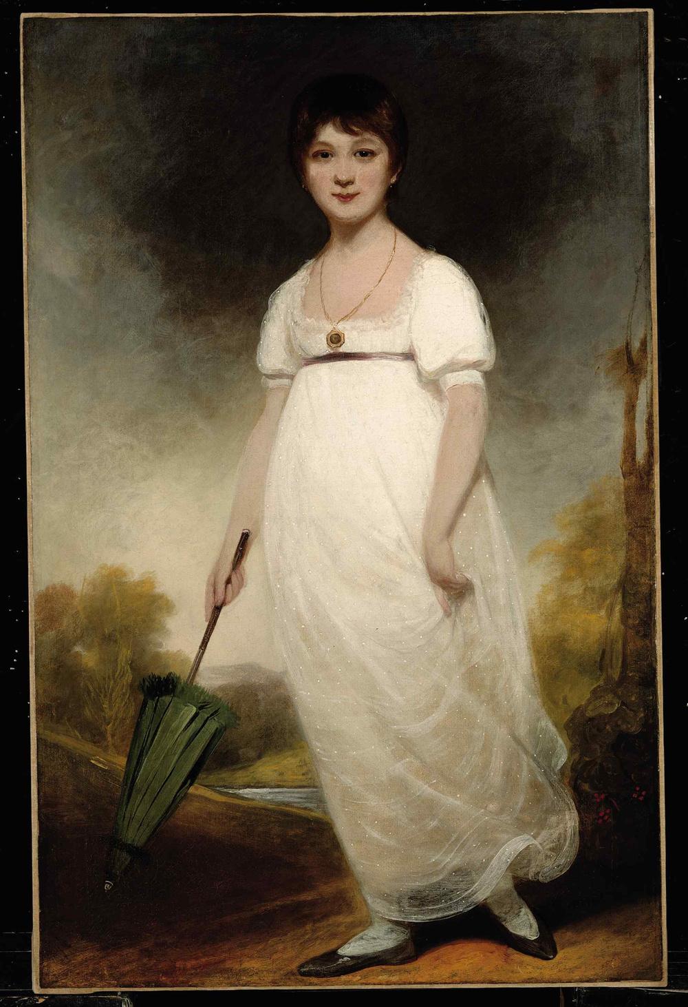 Rice Portrait of Jane Austen