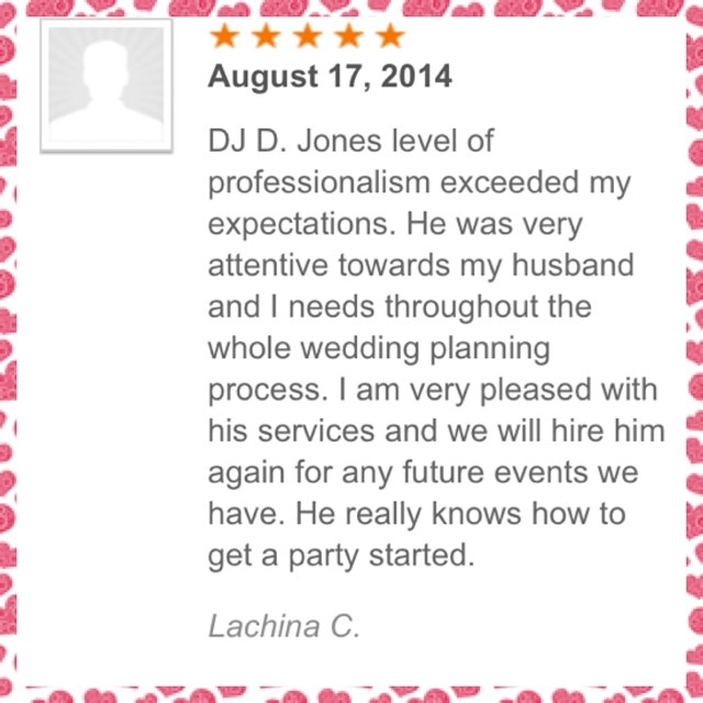 DJ D JONES CHICAGO WEDDING PRIVATE CLUB CORPORATE DJ REVIEW 1.jpg