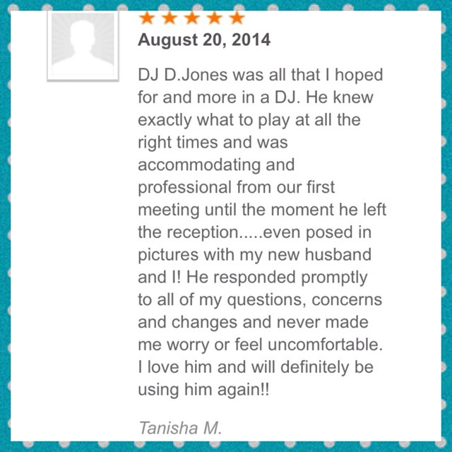 DJ D JONES CHICAGO WEDDING PRIVATE CLUB CORPORATE DJ REVIEW 9.jpg