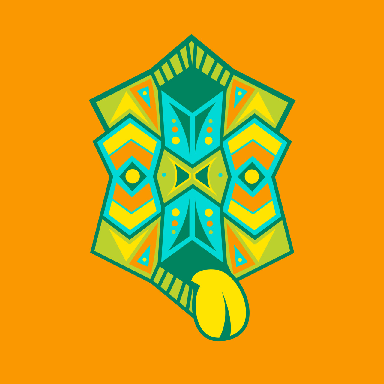 Day 3: Totem mask