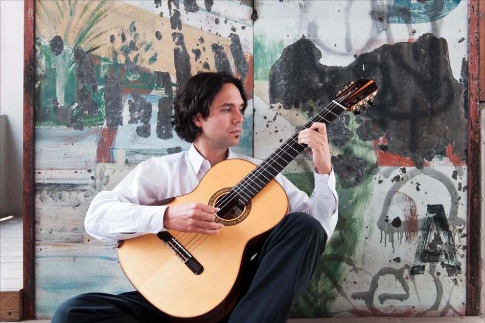 Morgan Szymanski, guitarrista