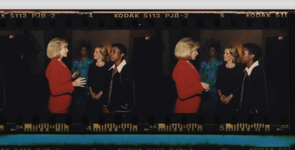Hillary Clinton at The Summit of the Americas at the Biltmore Hotel in Miami, Florida on December 9, 1994 (Photo sheet: P022731)