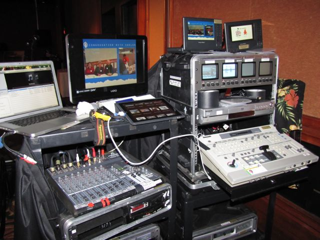 Live presentations, mixing computer, DVD & multiple microphones and audio sources.