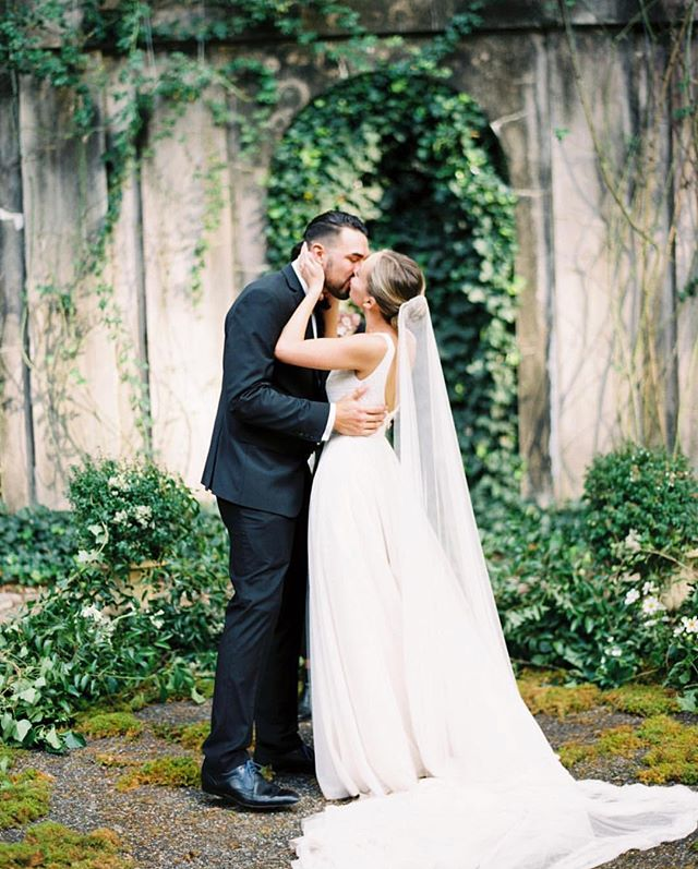 Claudia & Alex's beautiful wedding day is featured with BRIDES Magazine! I adore them and their day could not have been more enchanting! See more at the link in my bio from @brides  Image by @erichmcvey  Wedding Planning & Design: @alisetaggart|| Venue: Swan House and Gardens || Officiant: Lauren Soleil-Downer || Bride's Dress: Monique Lhuillier || Bride's Veil: @emilyriggsofficial || Bride's Shoes: Manolo Blahnik || Hair & Makeup: @claudiamejerle || Groom's Attire: Calvin Klein, Ted Baker || Floral Design: @foragebotanical || Paper Products: @writtenwordcalligraphy || Catering: @eptingevents||Cake:@gingerspicebakery || Music: DJ Greg Picciano @johnnyshideaway || Rentals: Crush Event Rental, Old South Vintage Rentals || Lighting: PPI Events || Transportation: Atlanta Hotrod Limos || Videography: @storyofeve || Photography: @erichmcvey with second shooter @chrisisham
