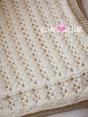 Sweet Pea Baby Blanket Knitting Pattern — Ewe Ewe Yarns