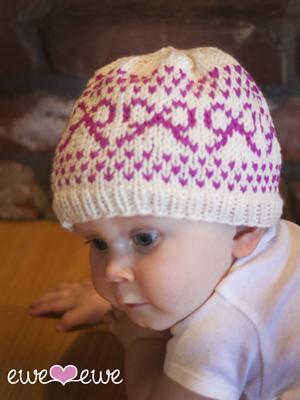 Preppy Hats Baby Hat Knitting Pattern — Ewe Ewe Yarns