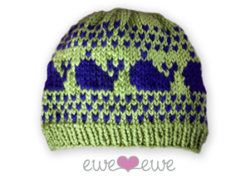 576cb743a3f ... hat knitting pattern is the perfect amount of preppy panaché and Fair  Isle stitching. It s an easy knit that works up fast and would be a big hit  at a ...