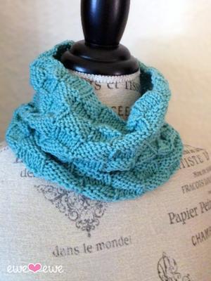 Au Revoir Cowl Free Knitting Pattern Ewe Ewe Yarns