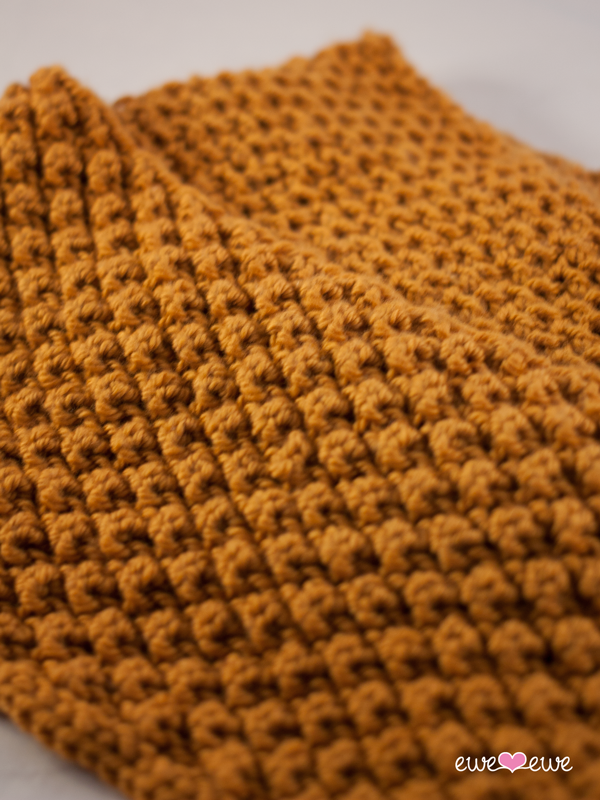 Knit Popcorn Stitch In The Round : Caramel Corn Cowl knitting pattern   Ewe Ewe Yarns