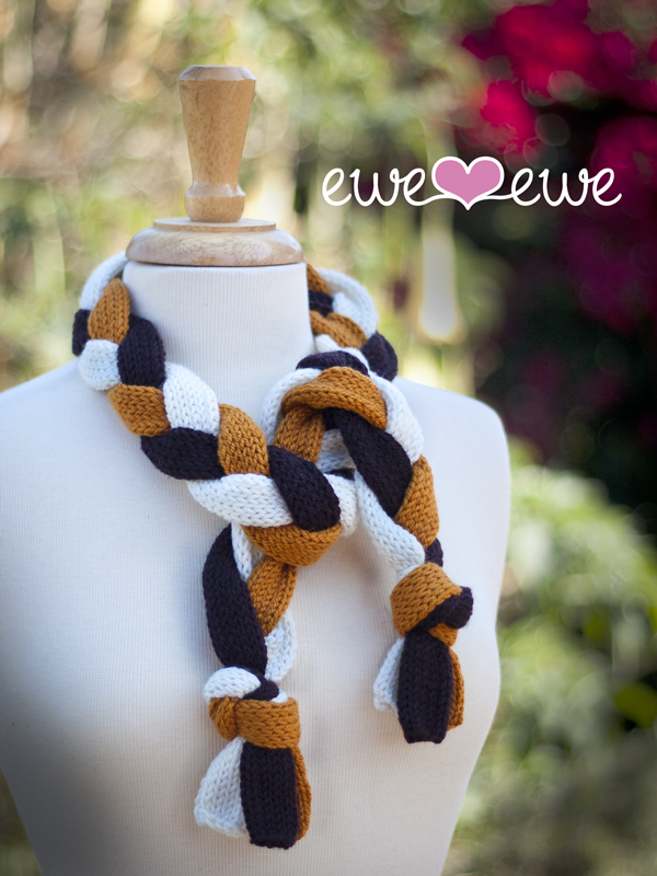 Totally Tubular FREE scarf knitting pattern