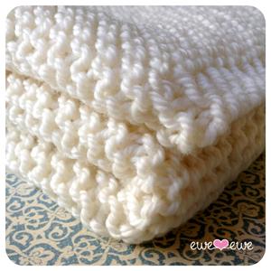 FREE Pattern:Serenity Baby Blanket