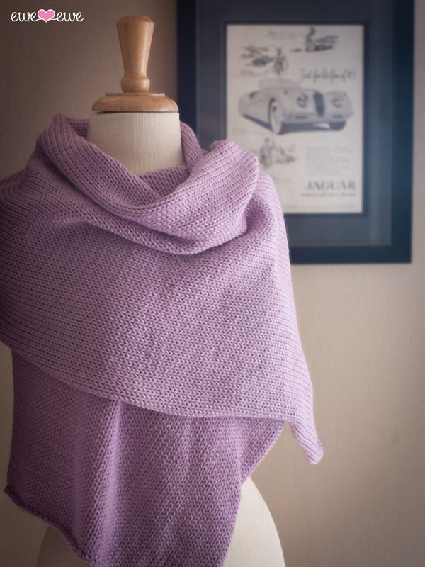 Radiant Wrap Free Knitting Pattern