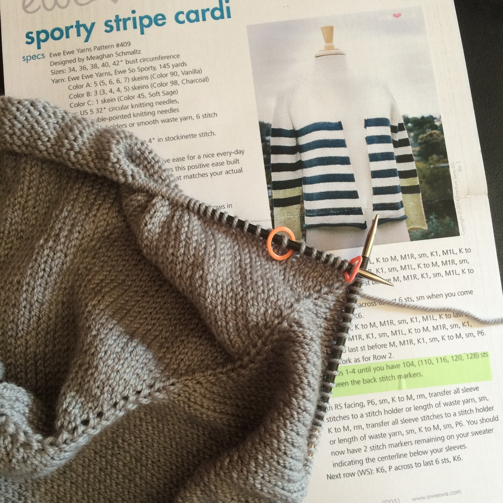 Tips For Knitting Quickly : A quick knitting tip for raglan shaping — ewe yarns
