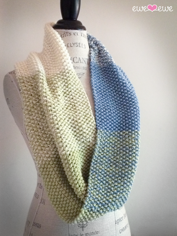 Color Theory Cowl PDF Knitting Pattern — Ewe Ewe Yarns