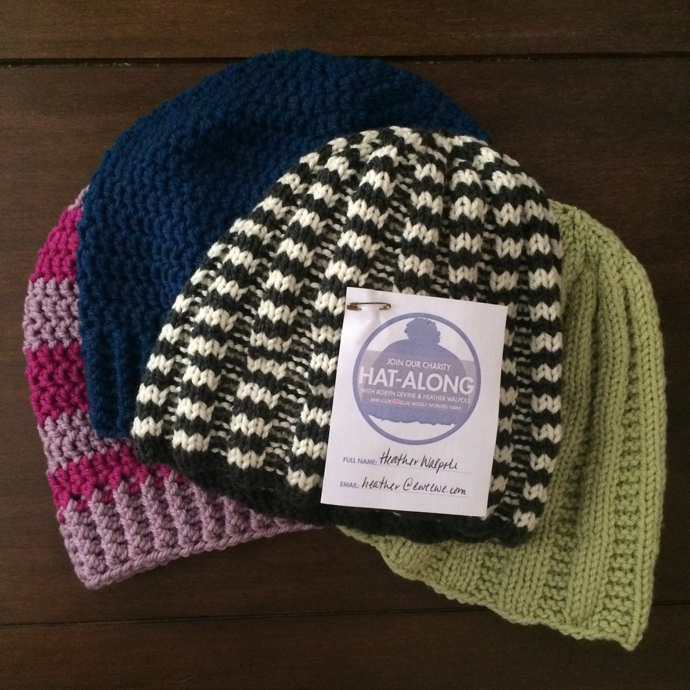Charity HAL hats