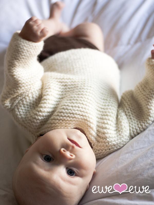 PDF Knit Baby Jumper