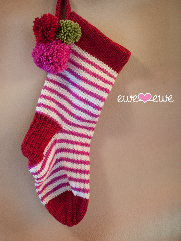 Stuff It Stocking Pdf Knitting Pattern Ewe Ewe Yarns