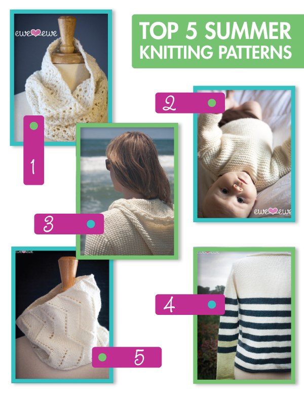 Top 5 Summer Knitting Patterns