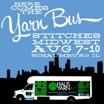 Yarn Bus @ Stitches Midwest