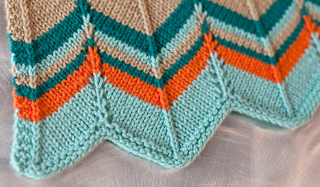 Free Knitting Pattern For Chevron Blanket : Patterns Using Ewe Ewe   Ewe Ewe Yarns