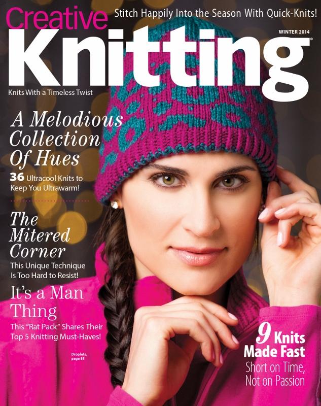 Creative Knitting, Winter 2014