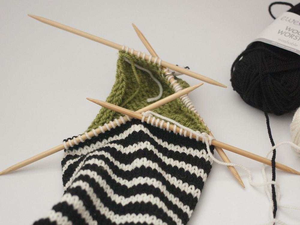 Knitting Pick Up Stitches Heel Flap : Blog   Ewe Ewe Yarns