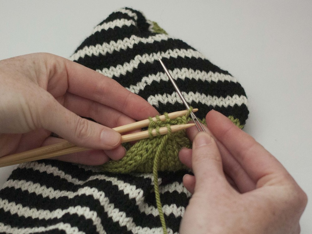 How to work Kitchener Stitch