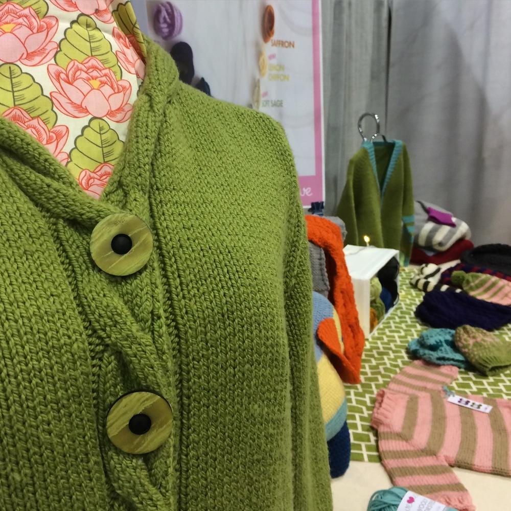 Yarn trade show booth
