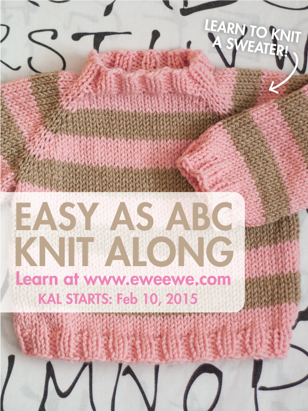 Easy As ABC Knit Along!