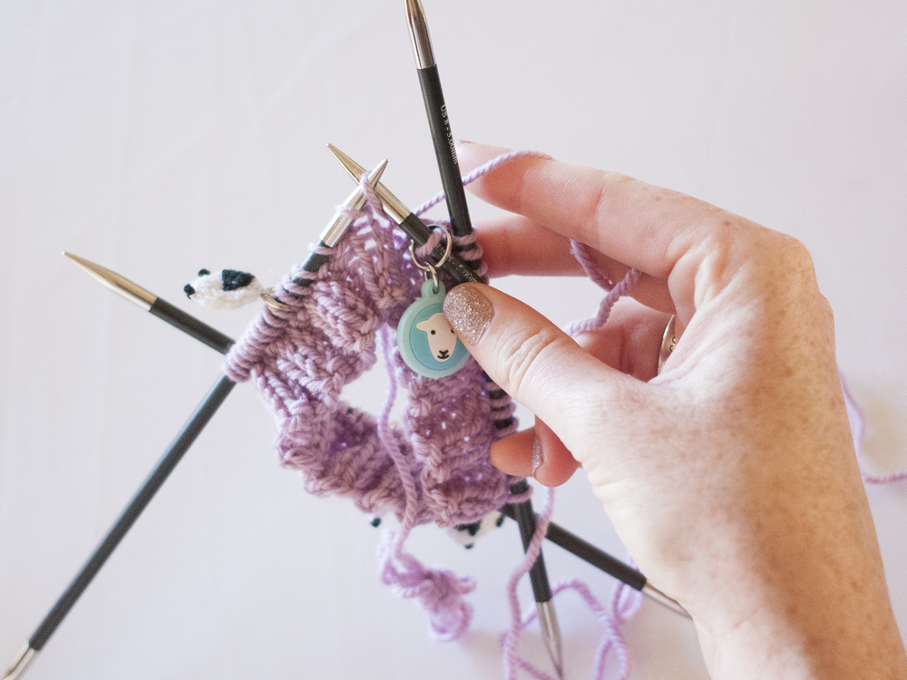Increase one stitch