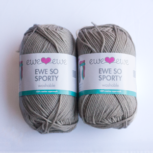 Brushed Silver yarn