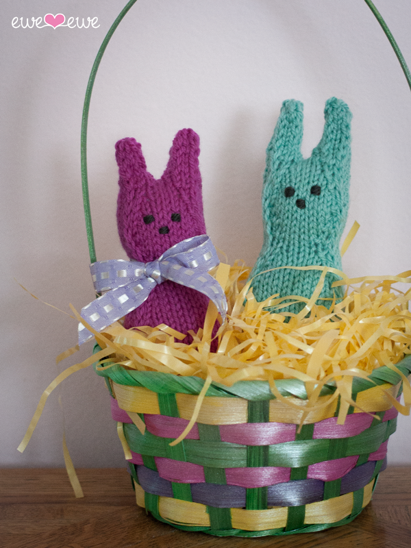 Hoppers knit bunnies