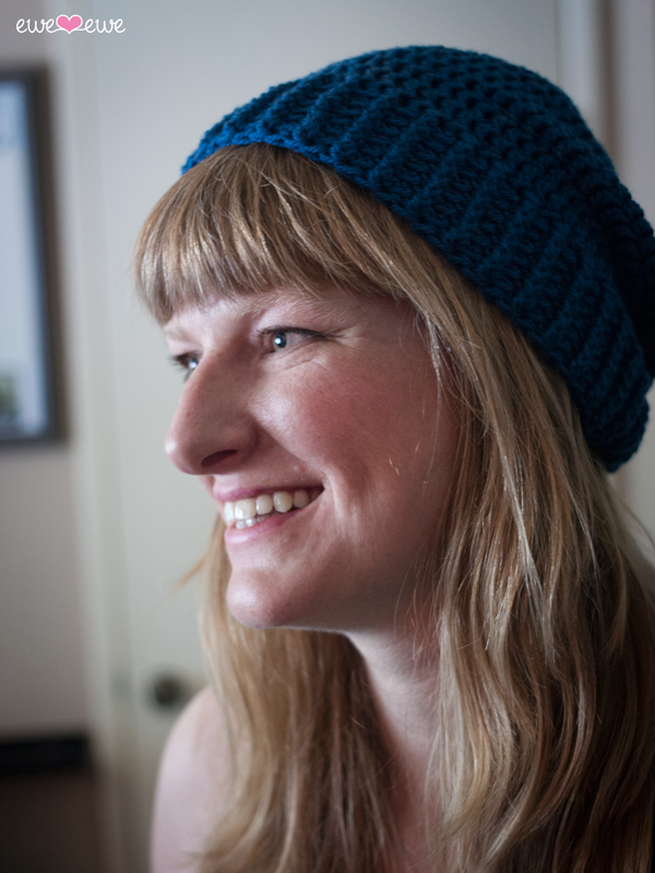Shanti Hat free crochet hat pattern in sizes from baby to large adult!