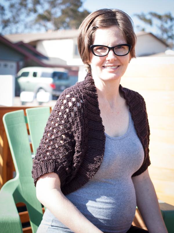 Show Off Shrug crochet pattern