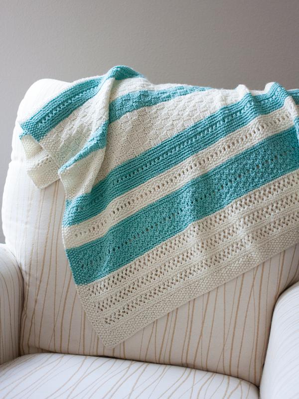 Peek A Blue Blanket Pdf Knitting Pattern Ewe Ewe Yarns
