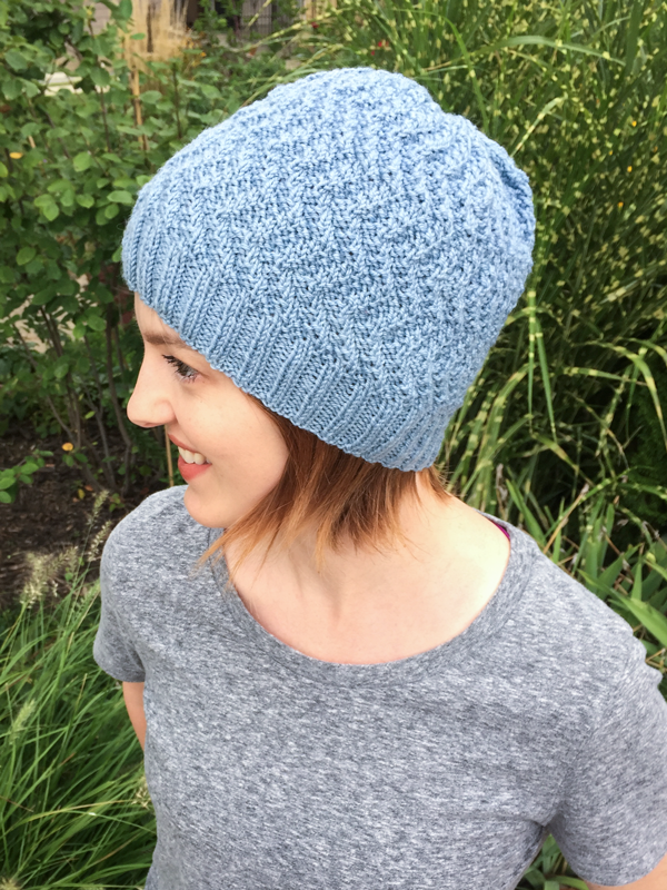 2a64766244af7 Quick decreases and an easy to remember pattern help make this hat perfect  for charity knitting. The design works well for men and women