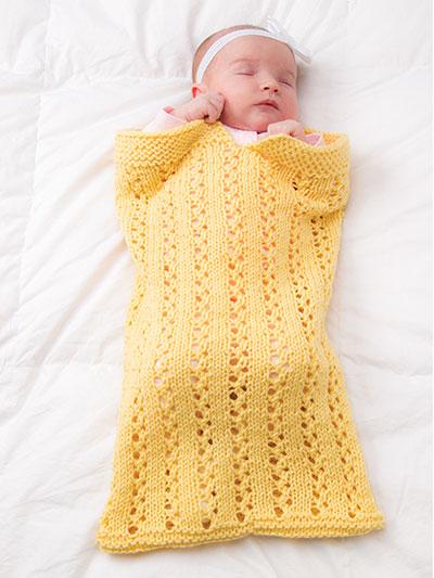 Sweet Pea Papoose Pdf Knitting Pattern Ewe Ewe Yarns