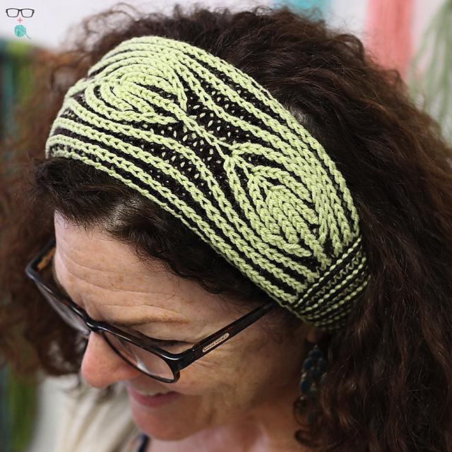 Vintage Vanity brioche headband designed by Meaghan Schmaltz