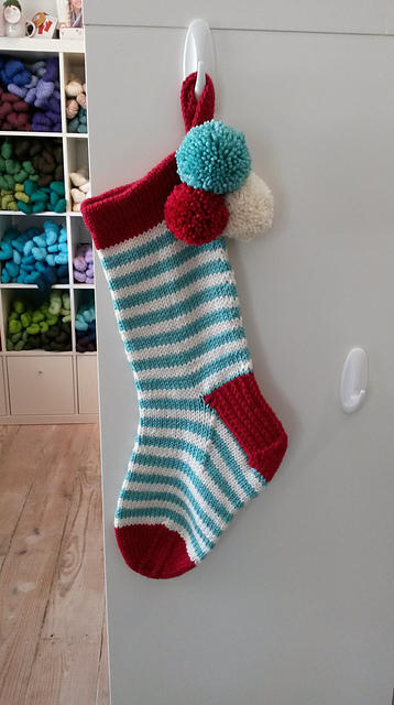 Magswilliams' stuff it stocking. See on Ravelry >