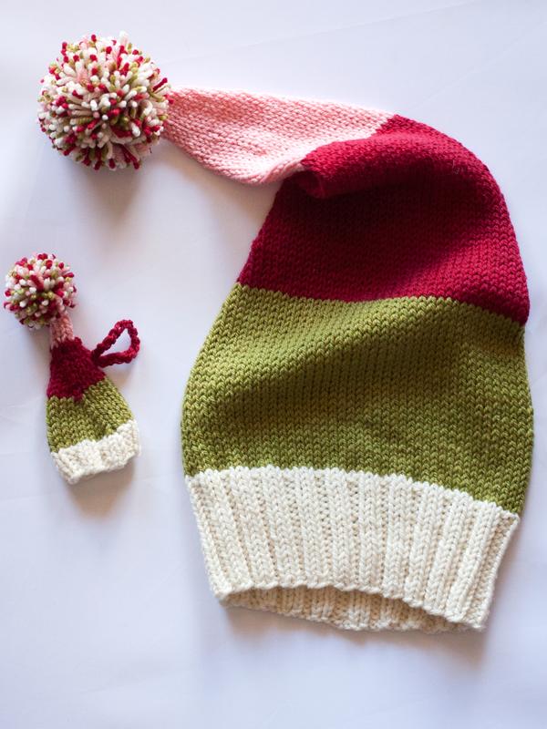 Me and The Tree PDF Stocking Hat Knitting Pattern — Ewe Ewe Yarns b7738caffee