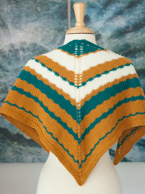 This Way Shawl knitting pattern