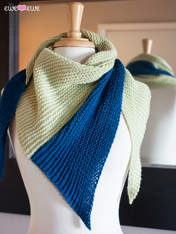 Mint Julep shawl pattern