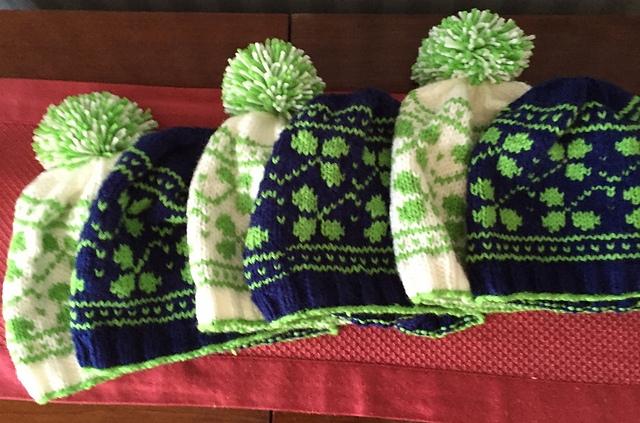 Saint Padraig Hat & Cowl Knitting Pattern Set   Ewe Ewe Yarns