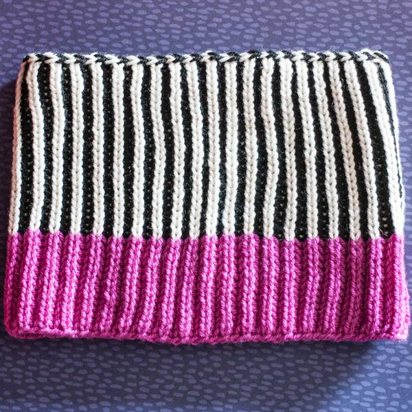 Wild Fiber Brioche Cowl PDF Knitting Pattern — Ewe Ewe Yarns