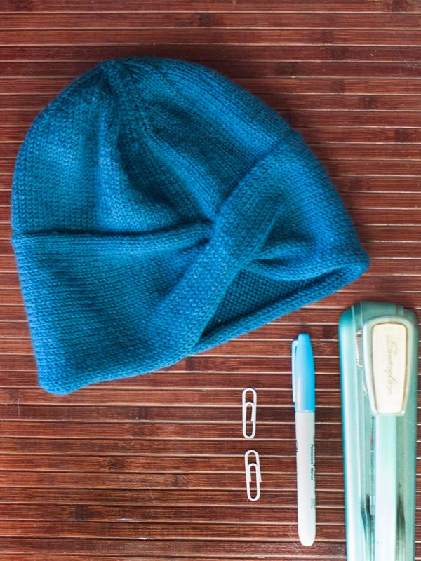 Criss Cross Cable Cap PDF Hat Knitting Pattern — Ewe Ewe Yarns
