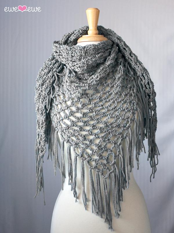 Groove Cruise Pdf Crochet Shawl Pattern Ewe Ewe Yarns