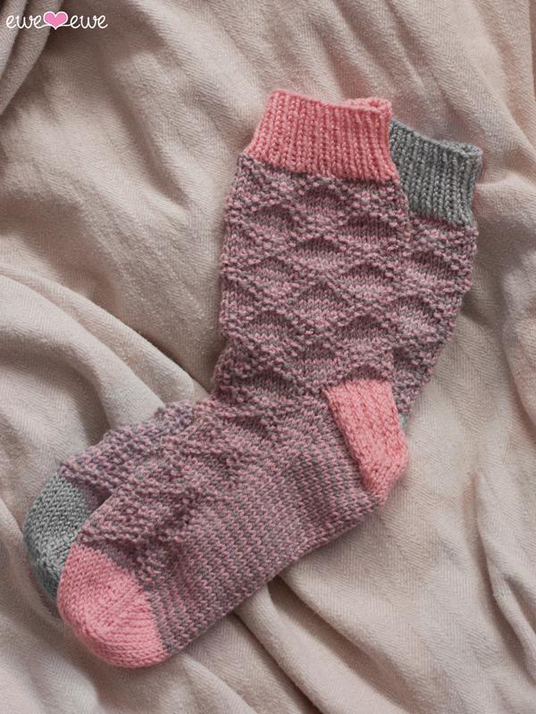 Serenity Slouch Socks Pdf Knitting Pattern Ewe Ewe Yarns
