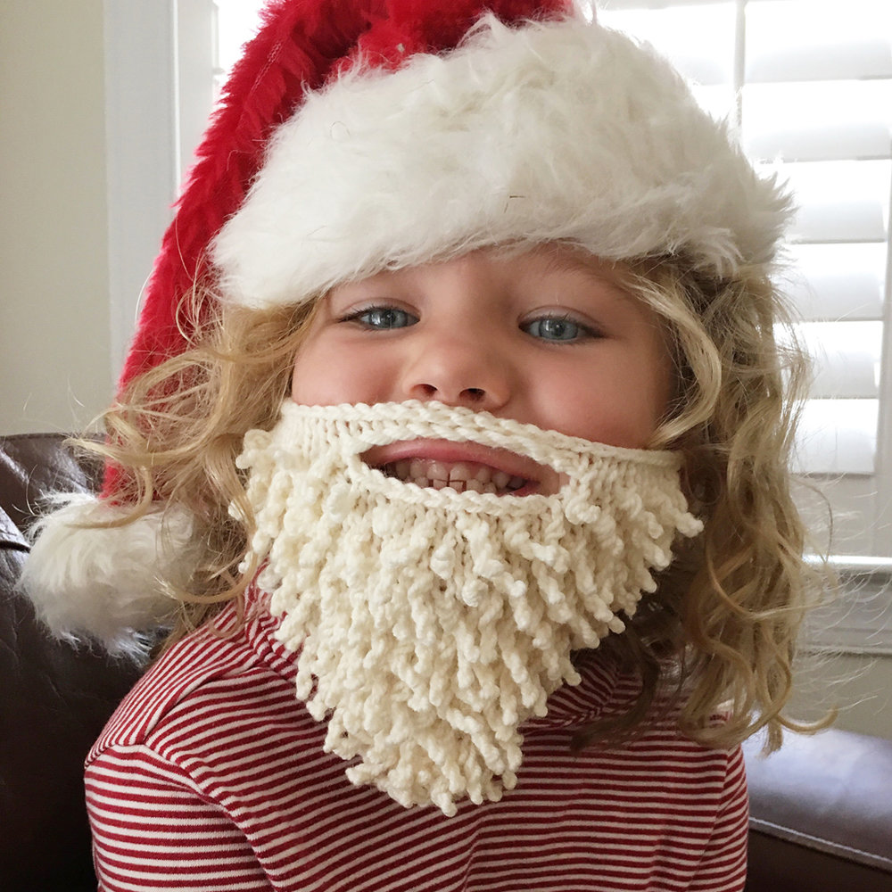 Santa Beard knitting pattern