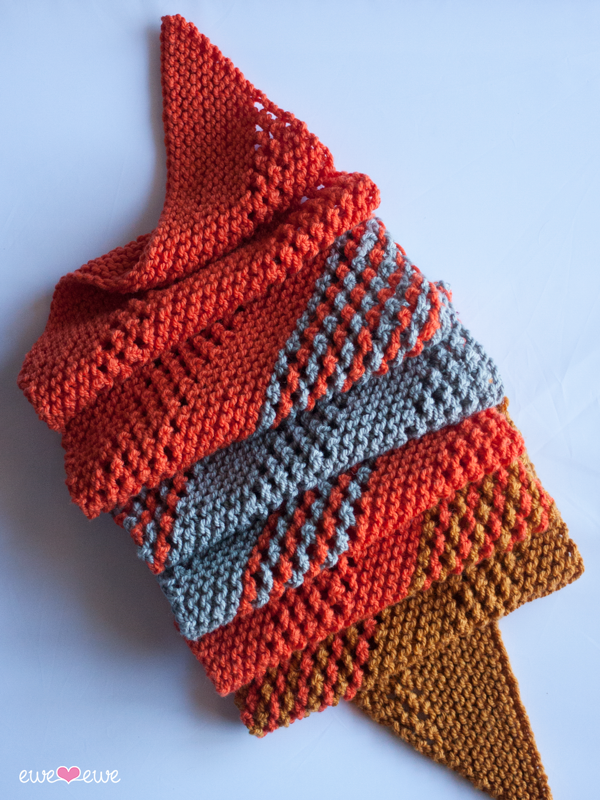 Marmalade Dream PDF Scarf Knitting Pattern — Ewe Ewe Yarns